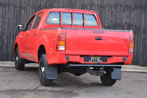 Toyota Hilux HL2 D-4D 4X4 DCB  Light 4X4 Utility 2.5 Manual Diesel