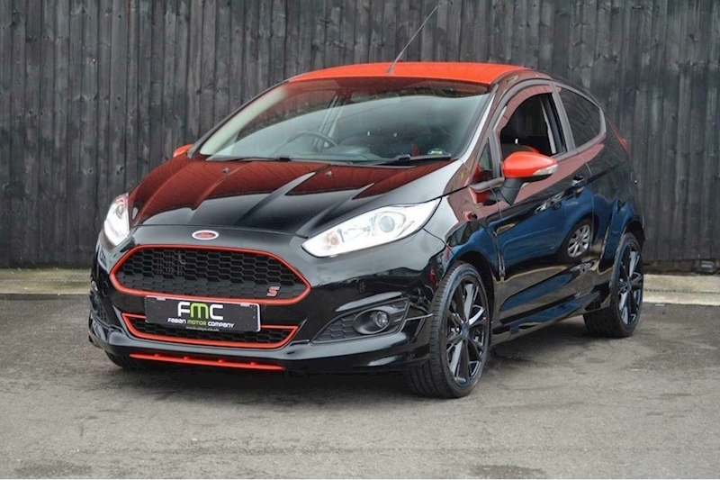 Ford Fiesta Zetec S Black Edition Hatchback 1.0 Manual Petrol