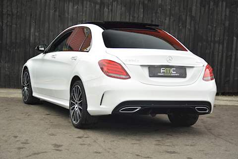 Mercedes-Benz C Class C 220 D 4Matic Amg Line Premium Plus Saloon 2.1 Automatic Diesel