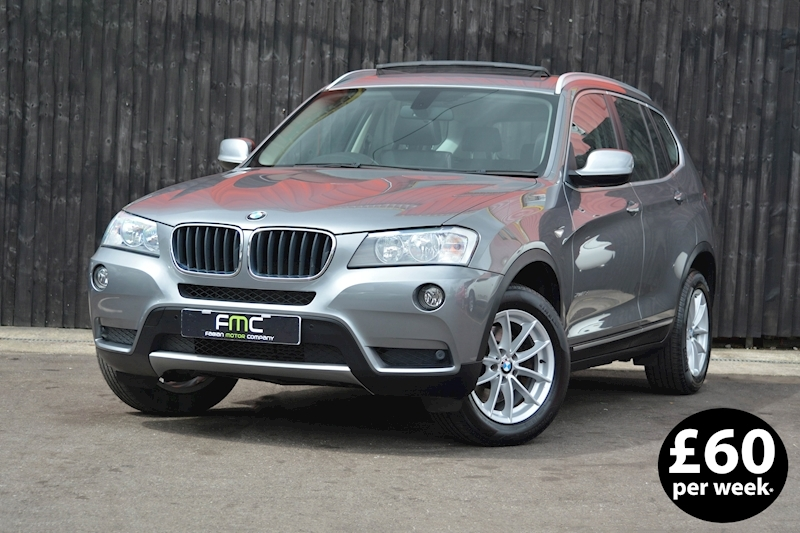 Bmw X3 Xdrive20d Se Estate 2.0 Manual Diesel