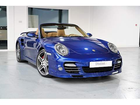 911 Turbo 3.6 2dr Convertible Manual Petrol