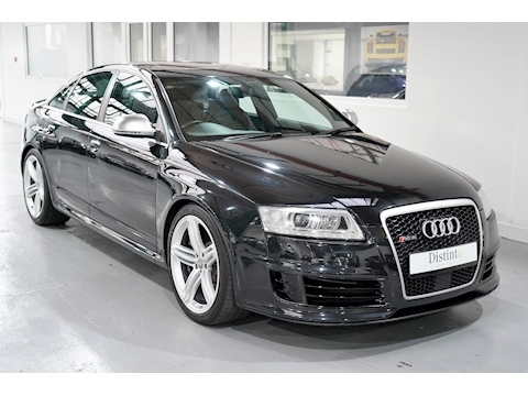 Audi 2009 Audi RS6 5.0 V10 Tfsi Rare Saloon - FSH - Big Spec - Black