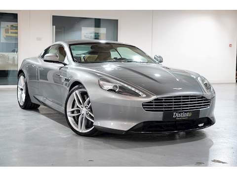 2012 Aston Martin Virage 6.0 V12 Coupe - Tungsten Silver - Left Hand Drive (LHD)