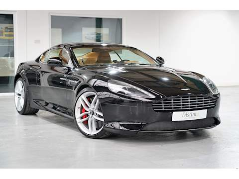2012 Aston Martin Virage 6.0 V12 Coupe - Jet Black / Tan - Left Hand Drive (LHD)