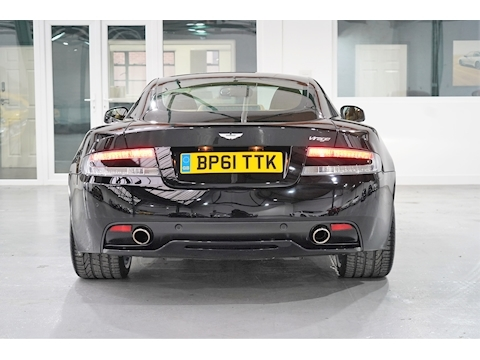 Aston Martin 2012 Aston Martin Virage 6.0 V12 Coupe - Jet Black / Tan - Left Hand Drive (LHD)