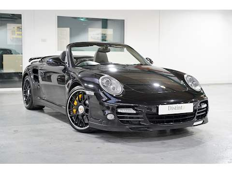 2012 Porsche 911 997.2 Turbo S 3.8 PDK Convertible - Black - Rare