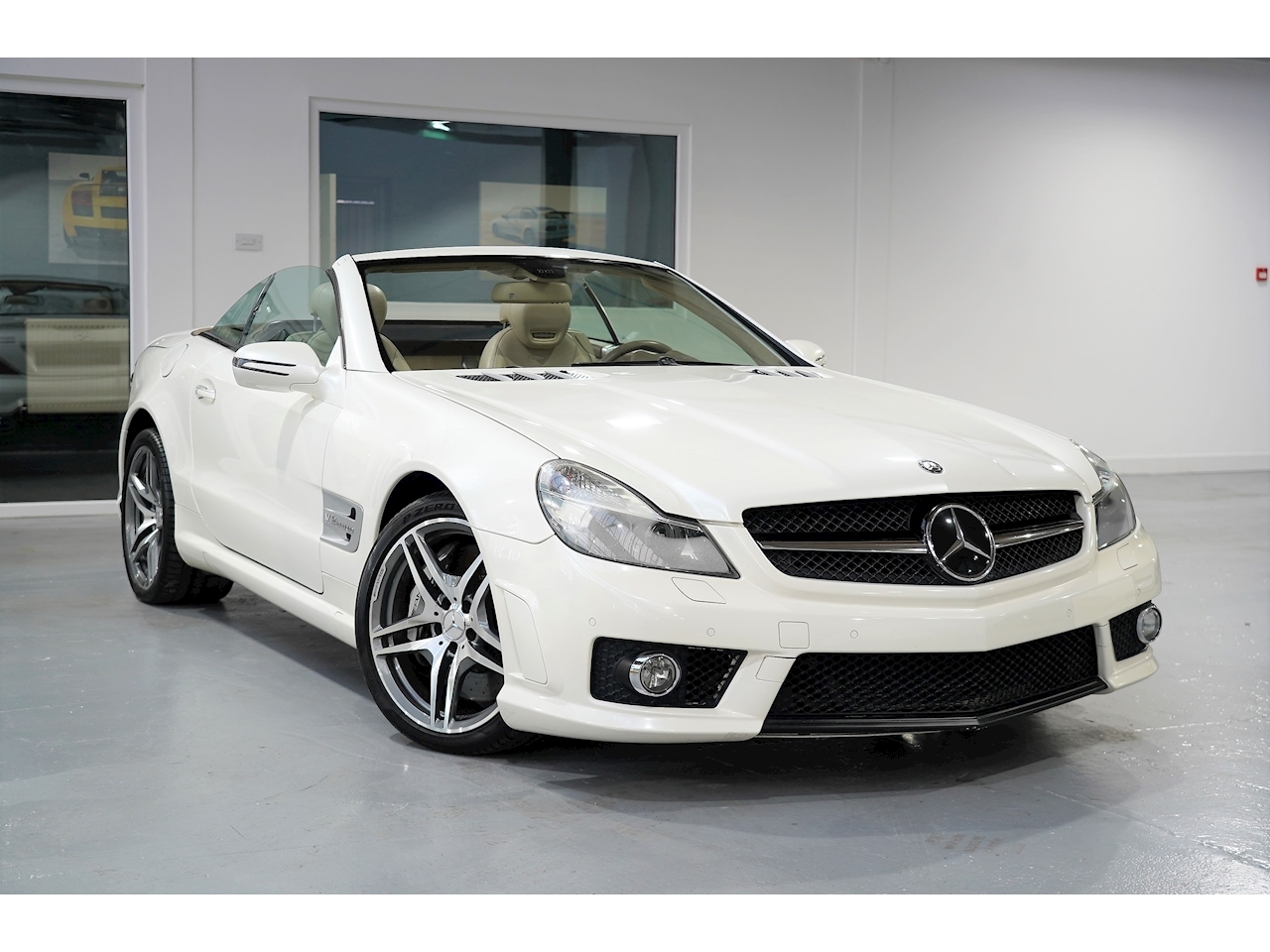 2008 Mercedes Benz SL 65 AMG 6.0 V12 - Facelift - Pearl White - Left Hand Drive (LHD)