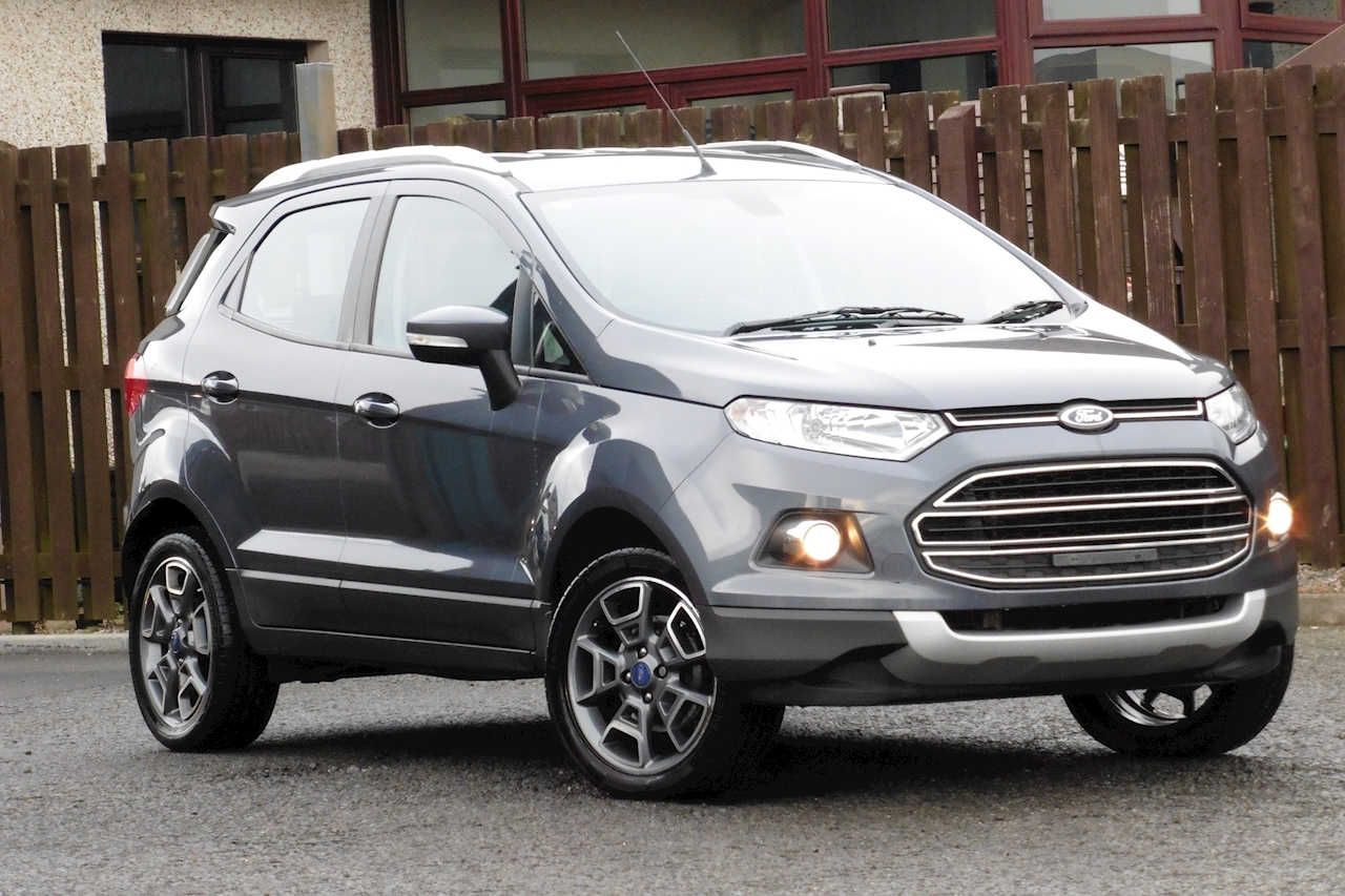 Ford Ecosport Titanium X-Pack Hatchback 1.0 Manual Petrol