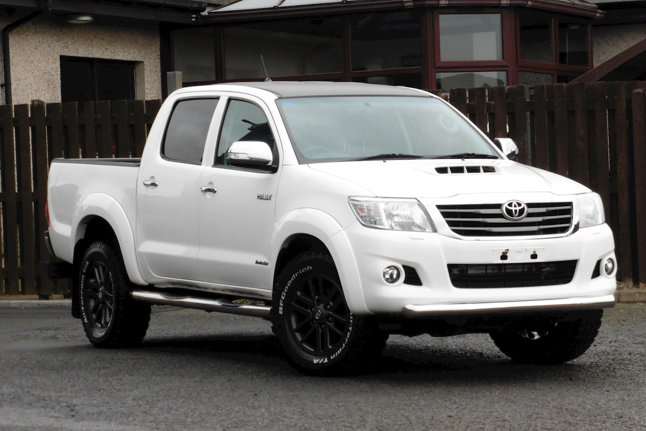 Toyota Hilux Invincible 4X4 D-4D Dcb 3.0 4dr Light 4X4 Utility Automatic Diesel