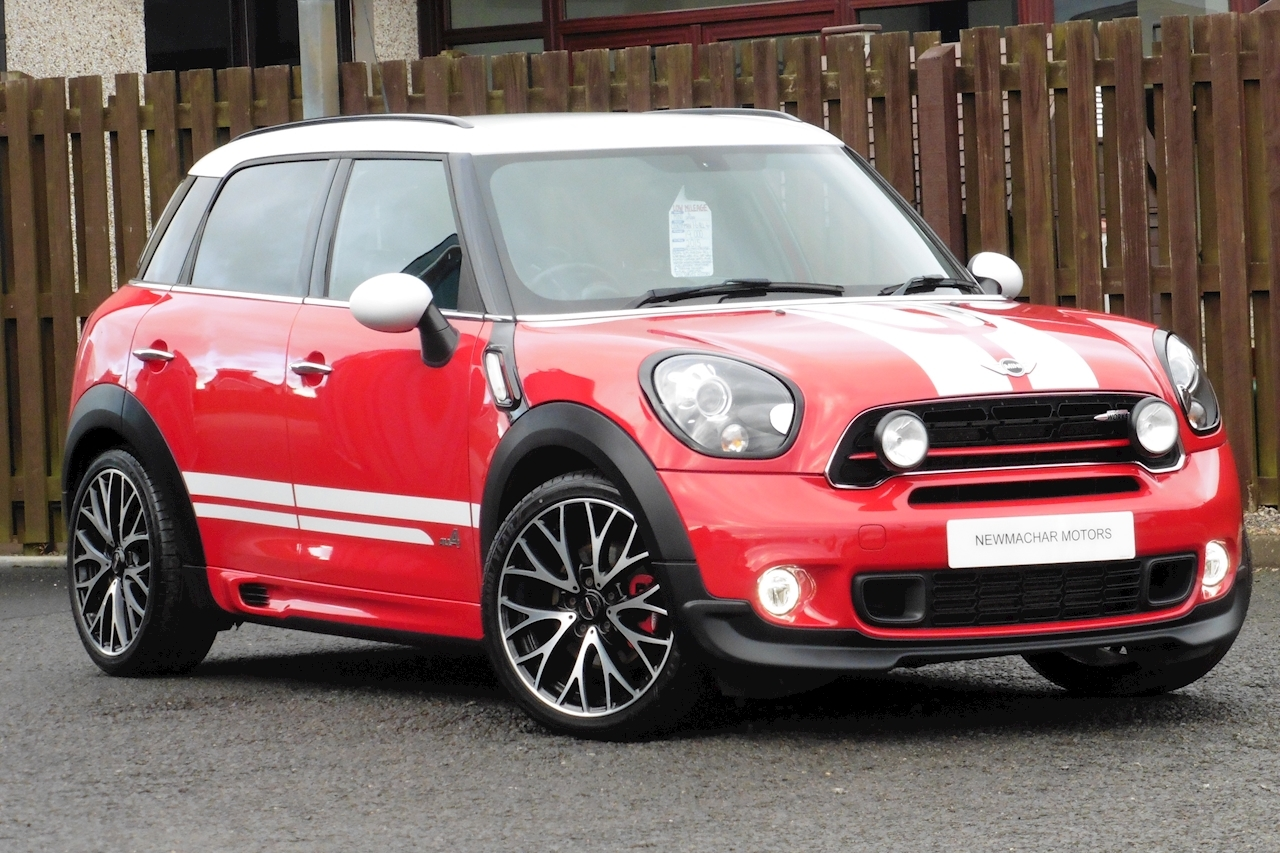 Mini Mini Countryman John Cooper Works Hatchback 1.6 Manual Petrol