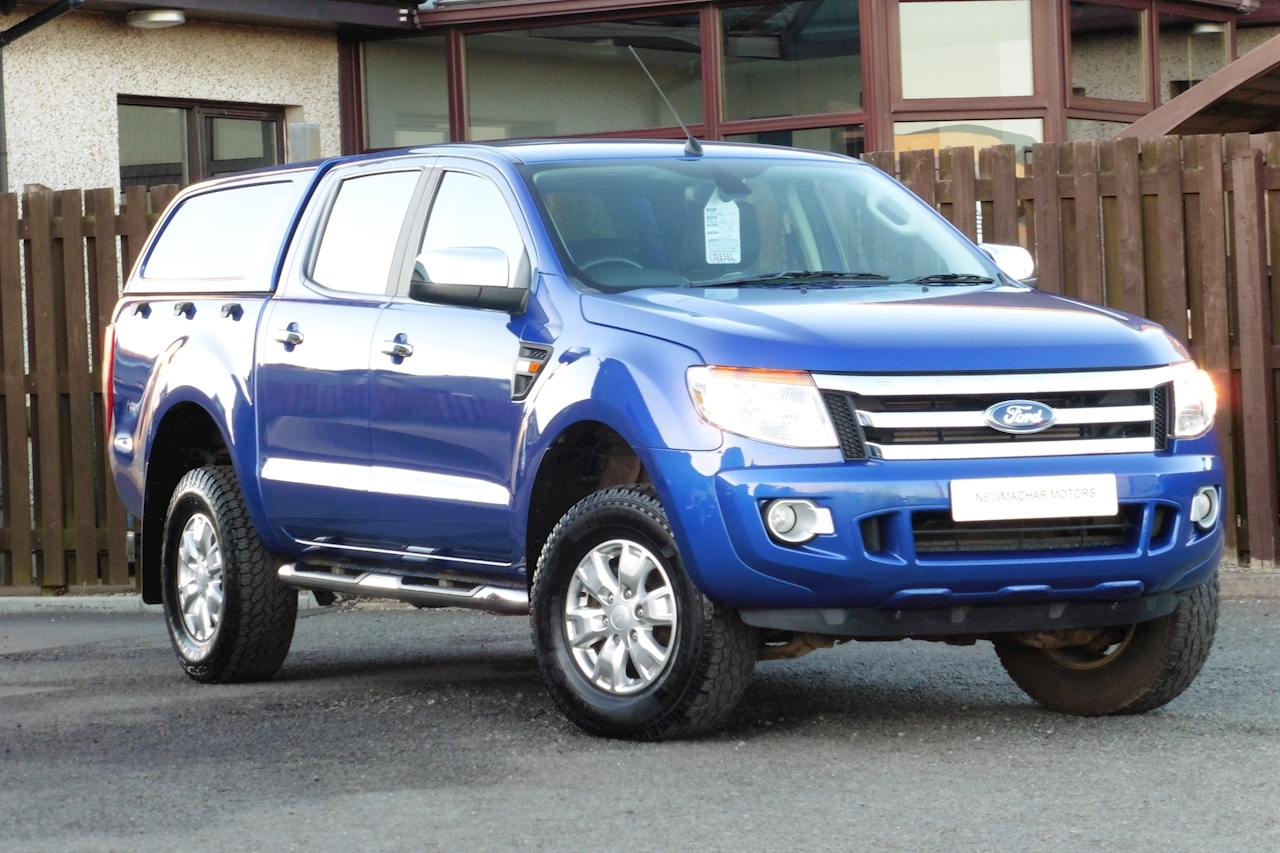 Ford Ranger Xlt 4X4 Dcb Tdci Pick-Up 2.2 Manual Diesel