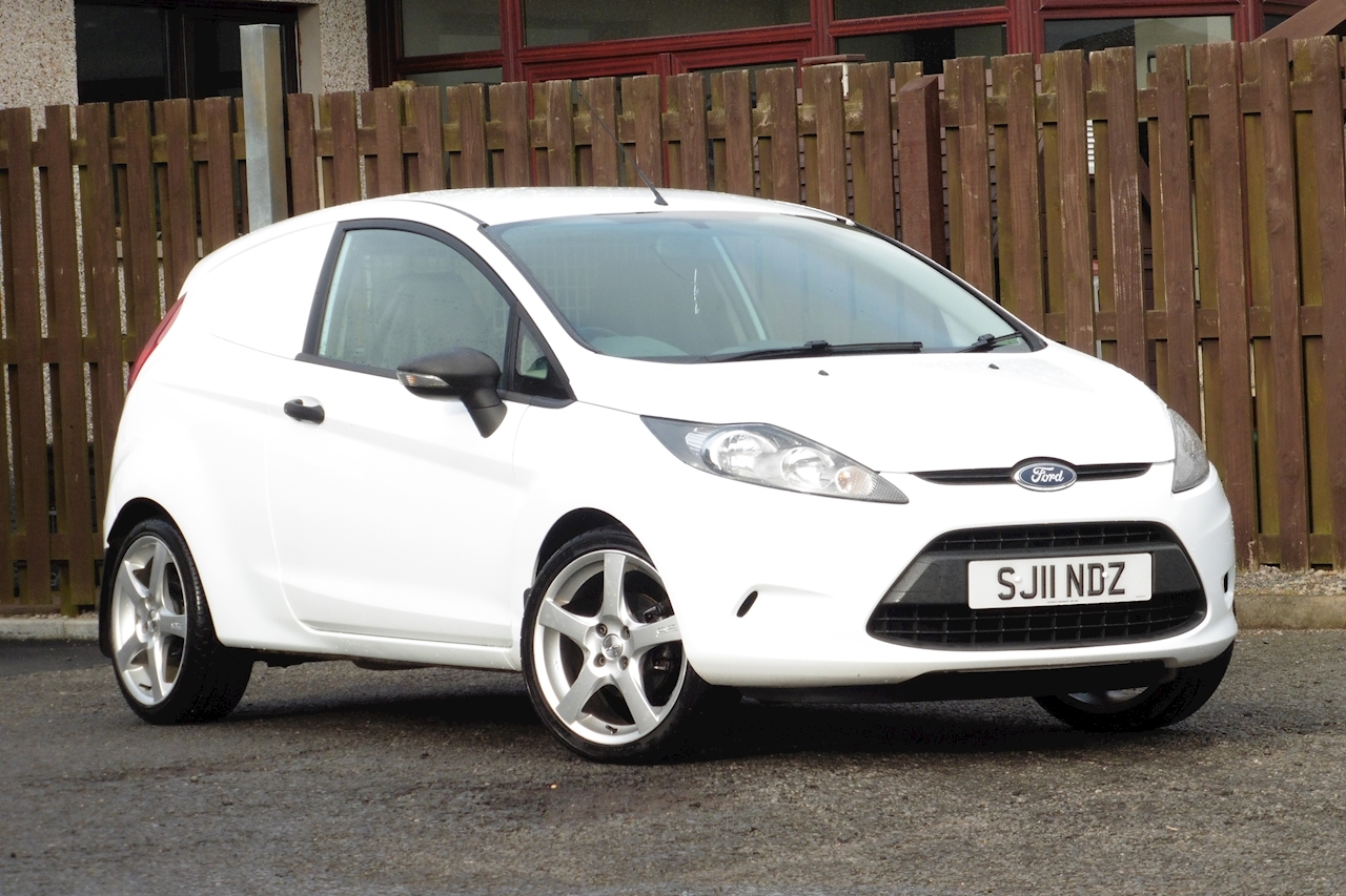 Ford Fiesta Base Tdci 1.4 3dr Car Derived Van Manual Diesel