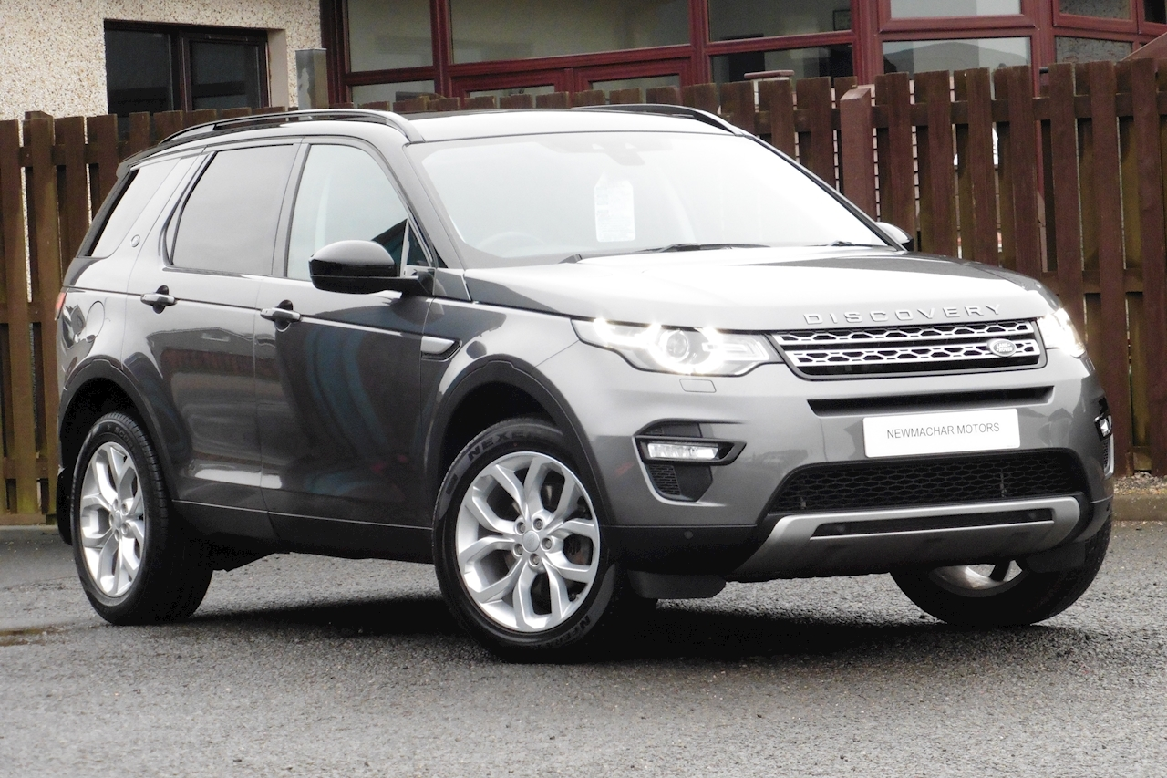 Land Rover Discovery Sport 2.0Td4 Hse Estate Manual Diesel