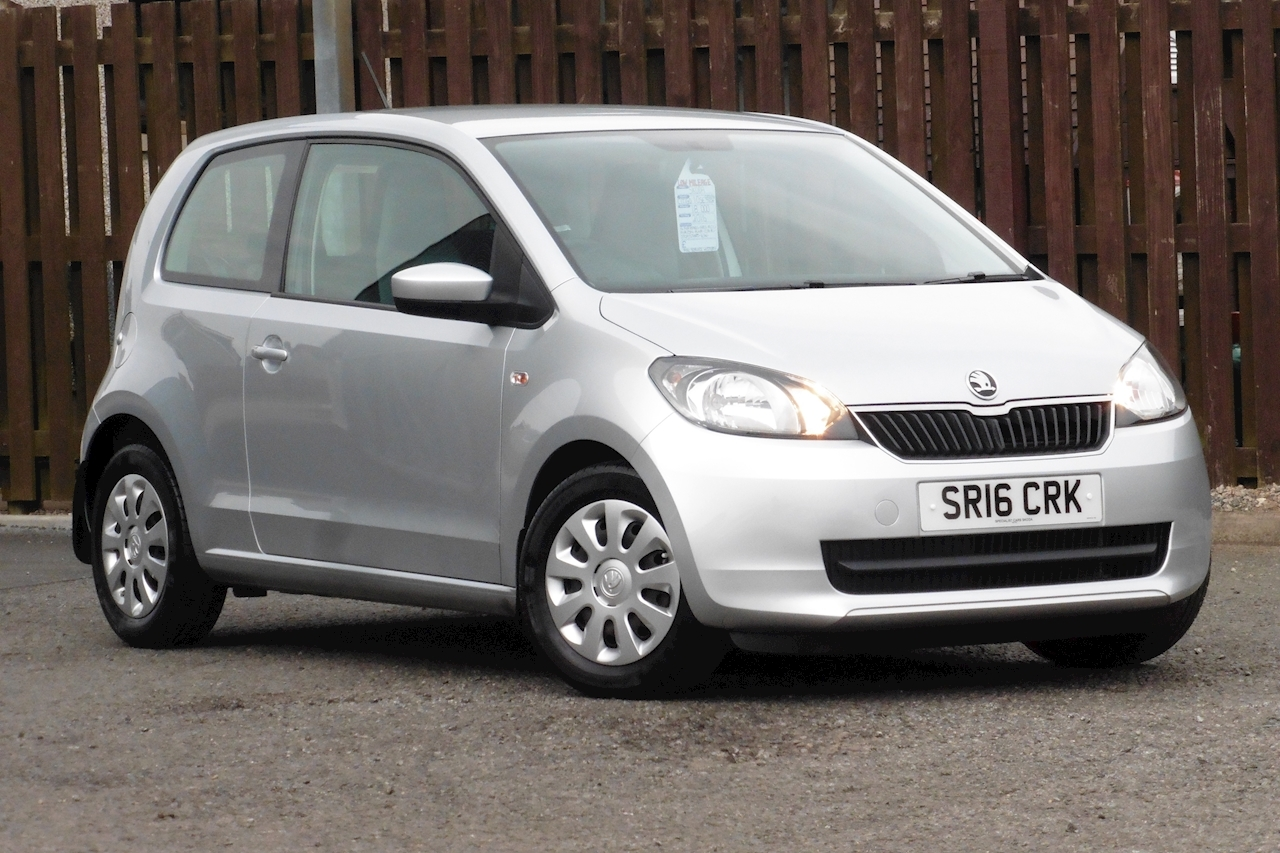 Skoda Citigo Se Greentech Hatchback 1.0 Manual Petrol