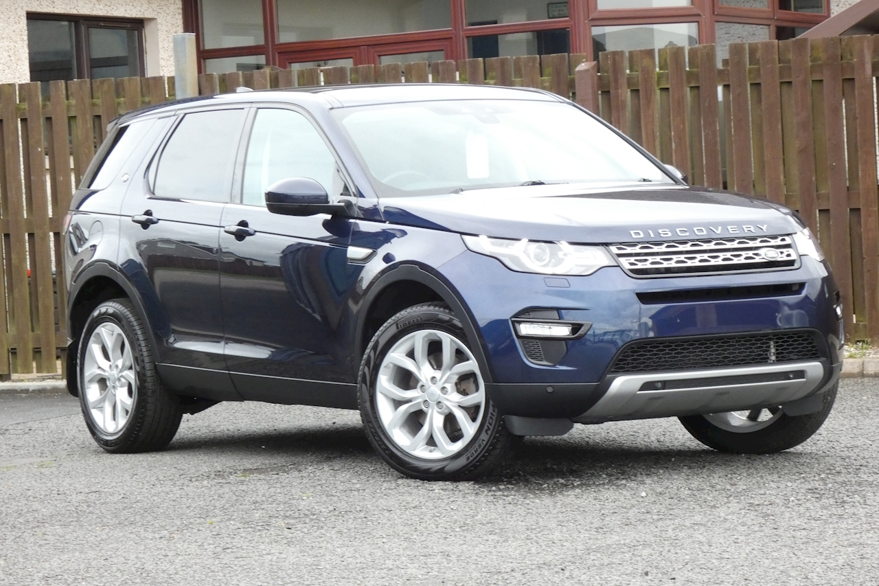 Land Rover Discovery Sport HSE 7Seat SUV 2.0 Auto Diesel