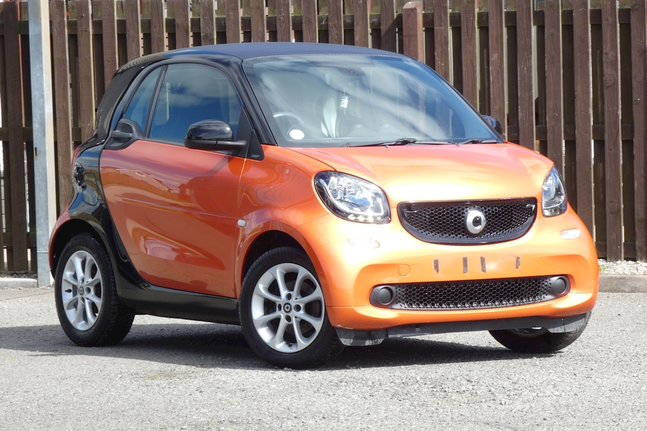 Smart fortwo Passion Coupe 1.0 Twinamic Petrol