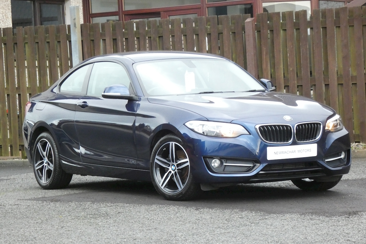 BMW 2 Series 220d xDrive Sport Coupe Coupe 2.0 Automatic Diesel