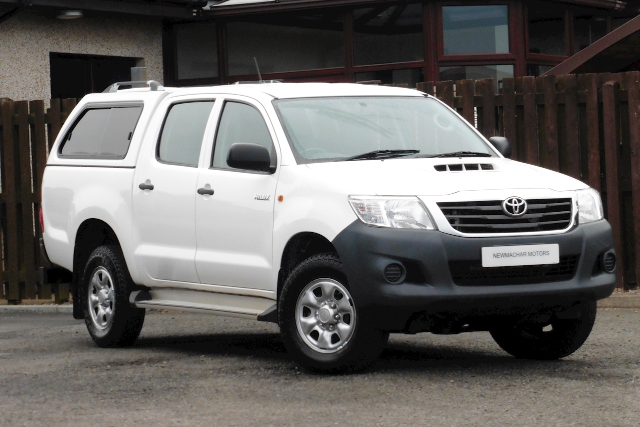 Toyota Hilux Hl2 4X4 D-4D Dcb Light 4X4 Utility 2.5 Manual Diesel
