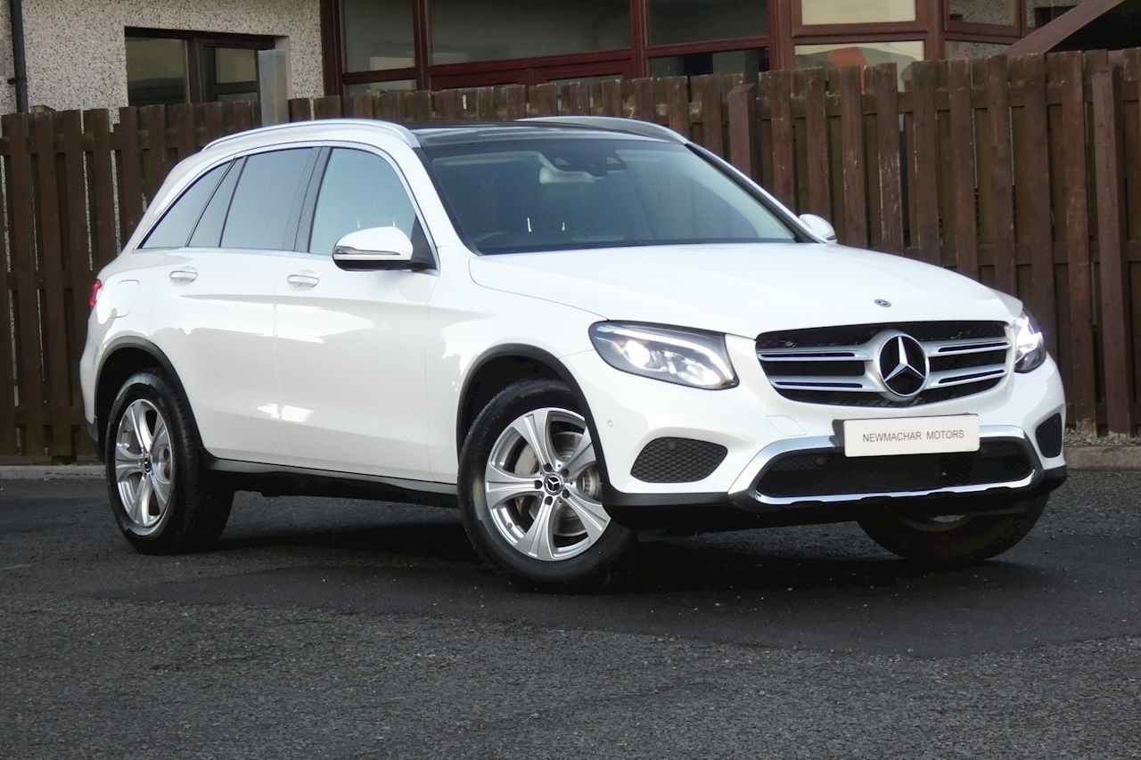 Mercedes-Benz 2.1 GLC220d Sport (Premium) SUV 5dr Diesel G-Tronic 4MATIC (s/s) (170 ps)