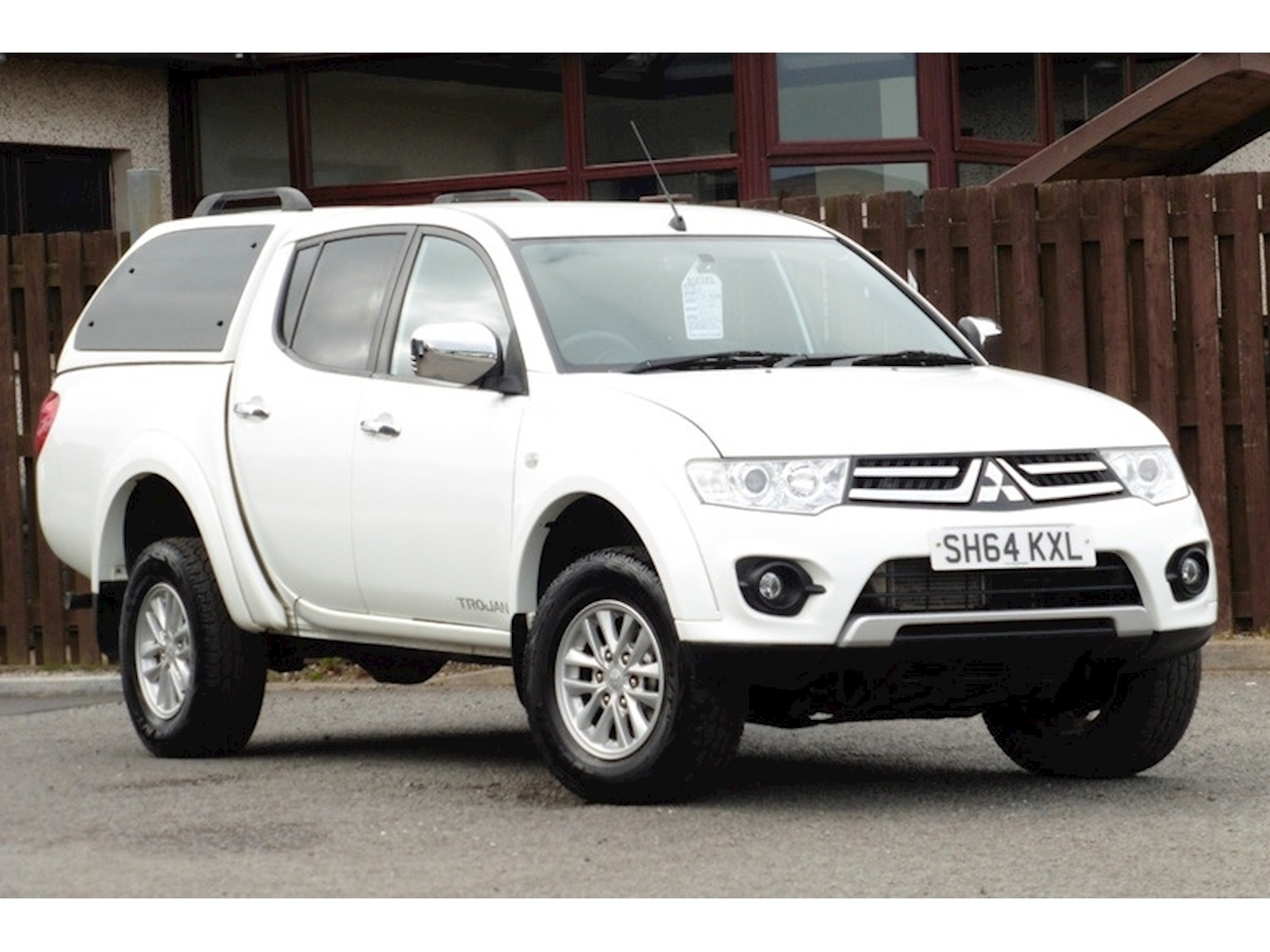Mitsubishi L200 Di-D 4X4 Trojan Dcb Pick-Up 2.5 Manual Diesel