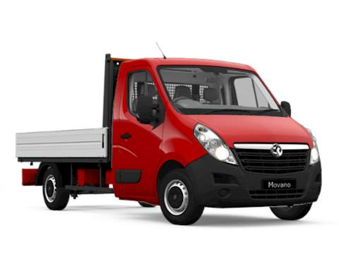 Vauxhall Movano Dropside SINGLE CAB DROPSIDE