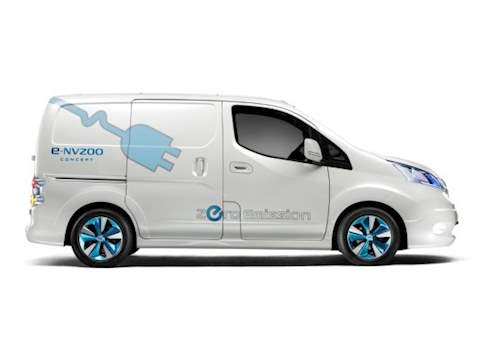 Nissan ENV200 Electric Van ELECTRIC VAN