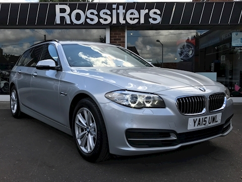 Bmw 5 Series 520d SE Touring Automatic Sat Nav+DAB+Leather