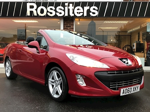 Peugeot 308 CC 1.6THP SE Convertible Heated Leather + Air Scarf