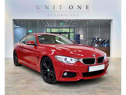 BMW 4 Series 420I M Sport Coupe 2.0 Manual Petrol
