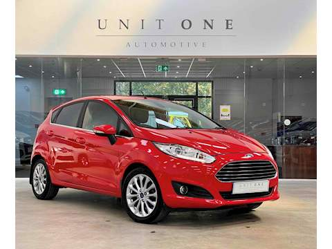 Ford Fiesta Titanium X Hatchback 1.5 Manual Diesel