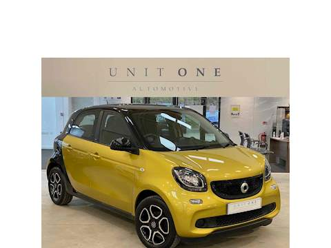 Smart Forfour Prime Premium T 0.9 5dr Hatchback Manual Petrol