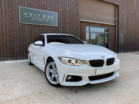 BMW 4 Series 420I M Sport Coupe 2.0 Automatic Petrol