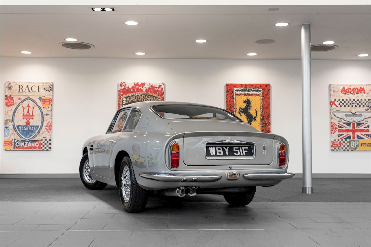 DB6 MK1 4.0 2dr Saloon Manual Petrol