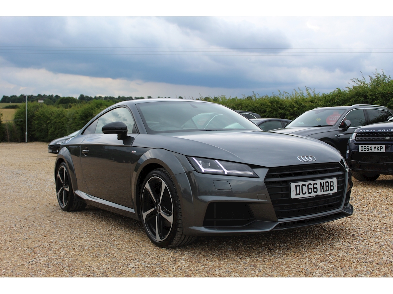 Audi Tt Tfsi S Line Black Edition Coupe 1.8 Manual Petrol