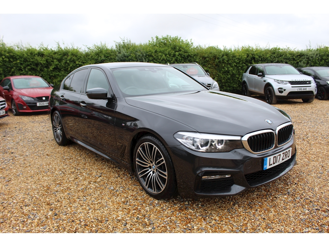 BMW 5 Series 520D Xdrive M Sport Saloon 2.0 Automatic Diesel