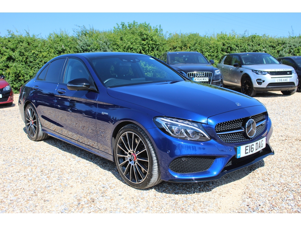 Mercedes-Benz C Class Amg C 43 4Matic Premium Plus Saloon 3.0 Automatic Petrol