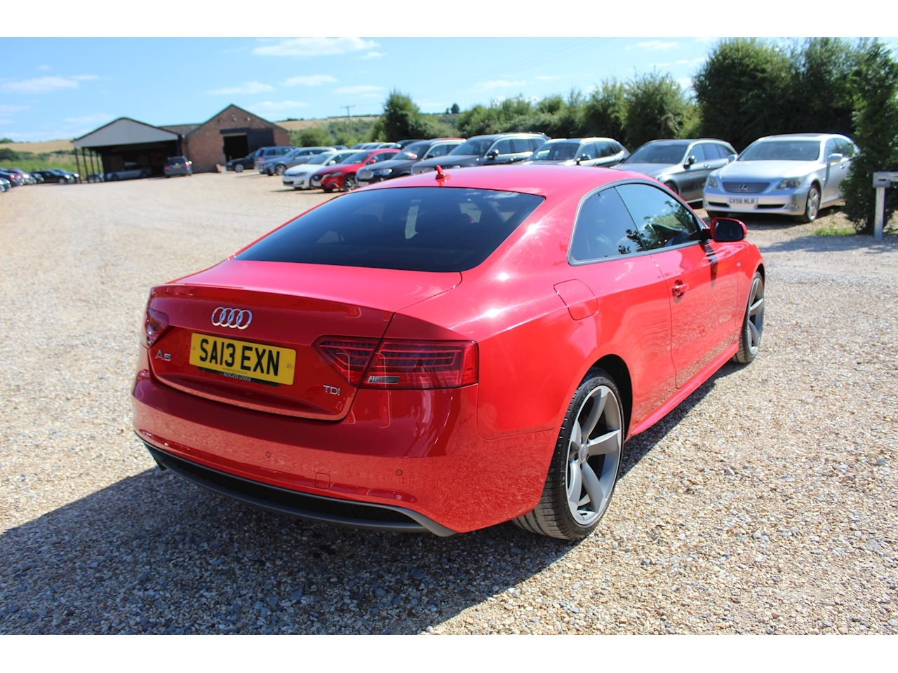 Audi A5 Black Edition Coupe 2.0 Manual Diesel