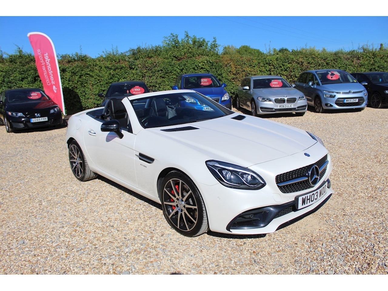 Mercedes-Benz SLC AMG Convertible 3.0 G-Tronic Petrol