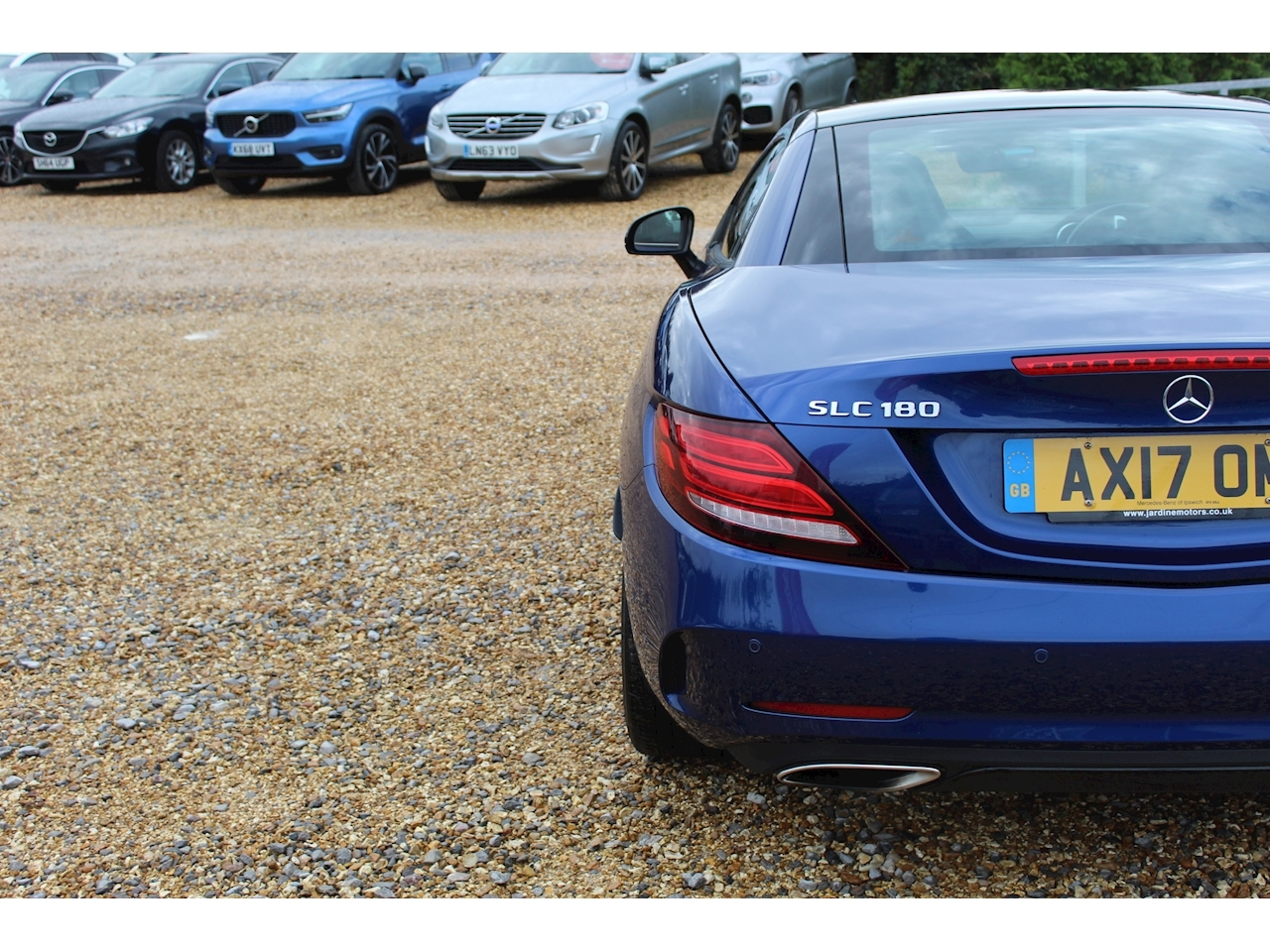 Mercedes-Benz SLC AMG Line Convertible 1.6 G-Tronic Petrol
