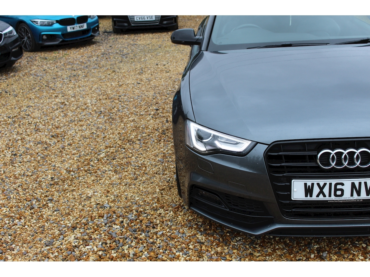 Audi A5 Black Edition Plus Coupe 1.8 Manual Petrol