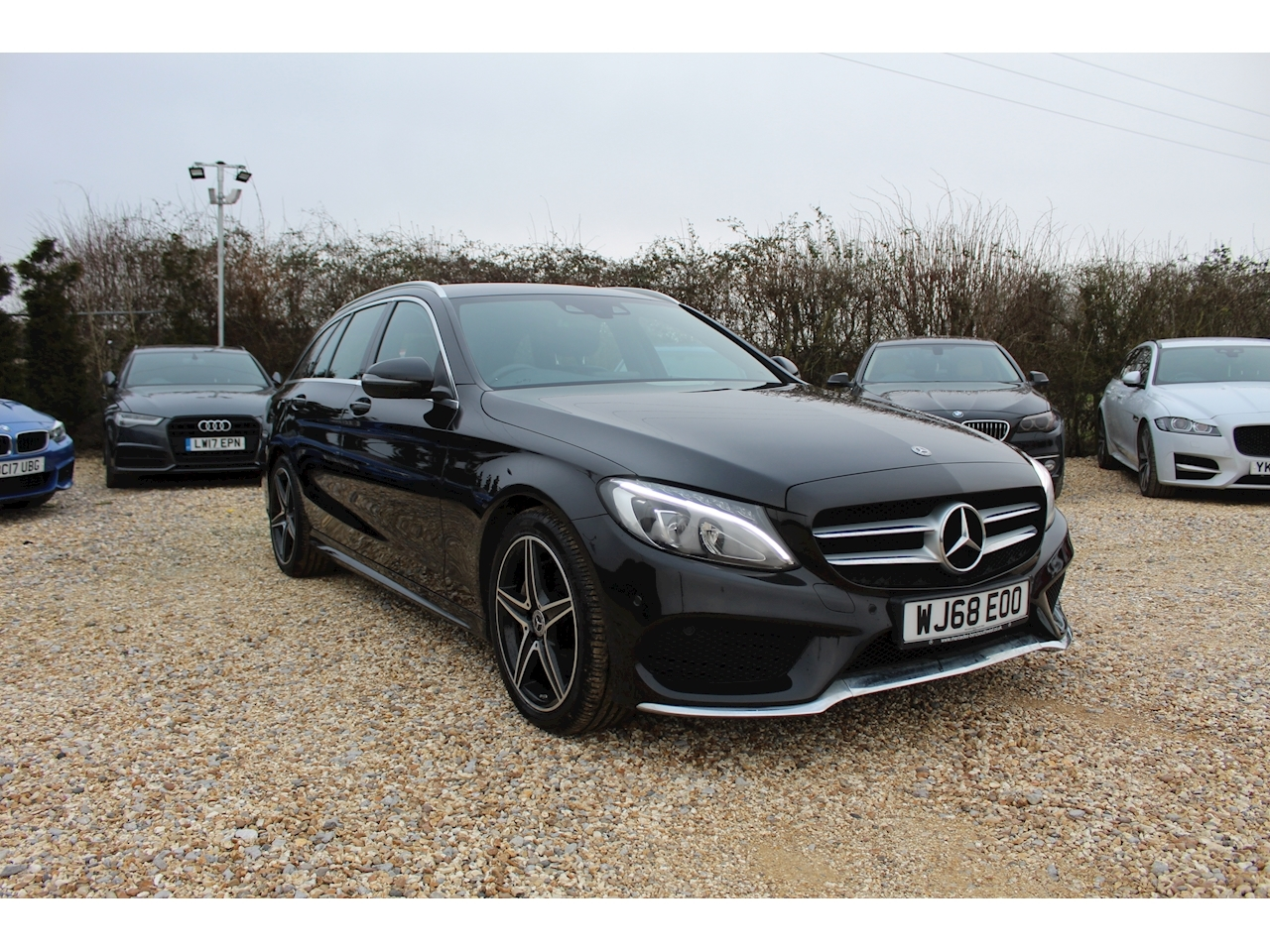 Mercedes-Benz 2.1 C220d Nightfall Edition Estate 5dr Diesel G-Tronic+ (s/s) (170 ps)
