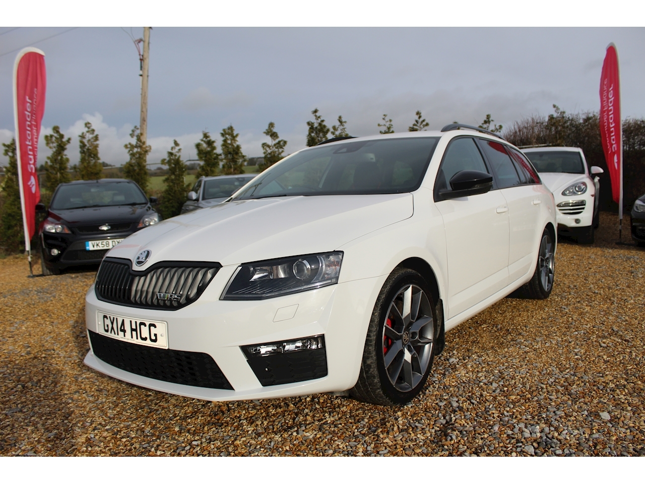 Skoda Octavia Vrs Tsi 2.0 5dr Estate Manual Petrol