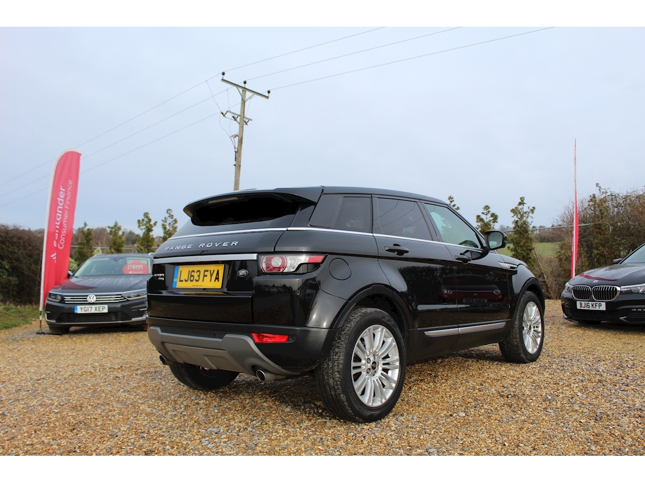 Land Rover Range Rover Evoque Sd4 Prestige Lux Estate 2.2 Automatic Diesel