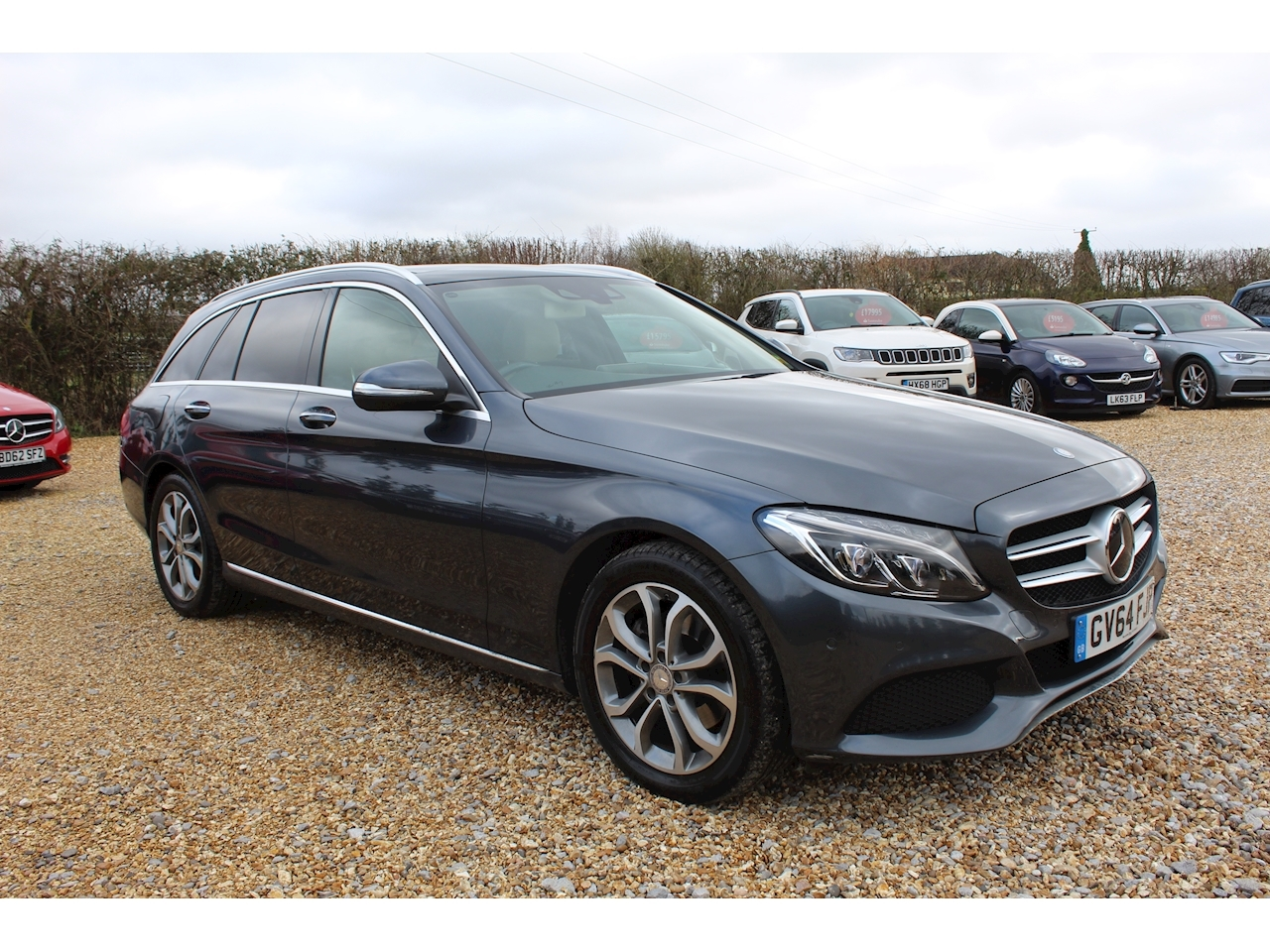 Mercedes-Benz C Class C220 Bluetec Sport Premium Plus Estate 2.1 Automatic Diesel