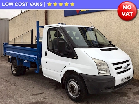 Ford Transit 350 2.4TDCi MWB Tipper Twin Rear Wheel