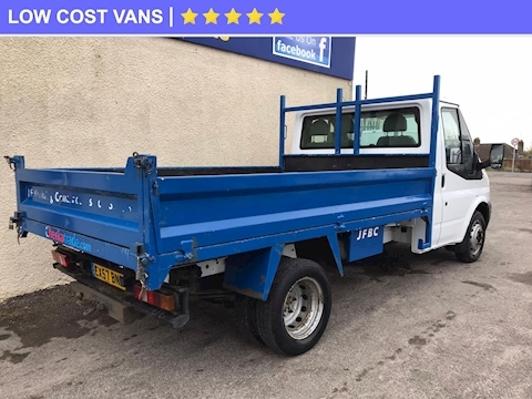 Transit 350 2.4TDCi MWB Tipper Twin Rear Wheel 2.4 2dr Tipper Manual Diesel