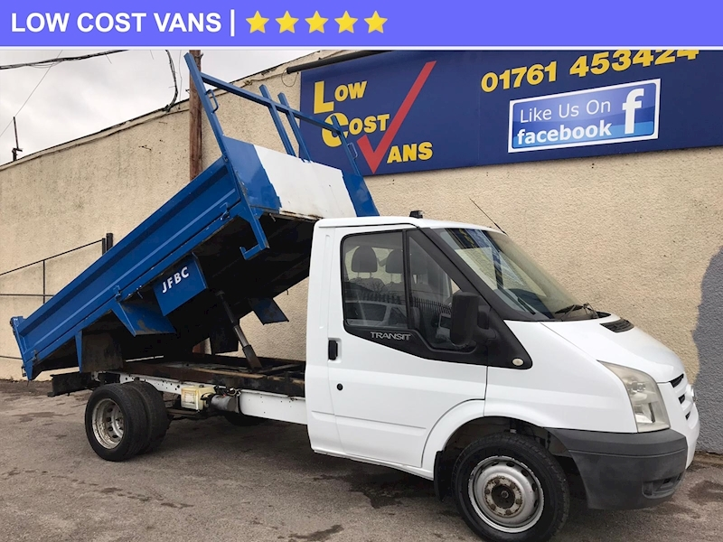 Ford Transit 350 2.4TDCi MWB Tipper Twin Rear Wheel - Large 5