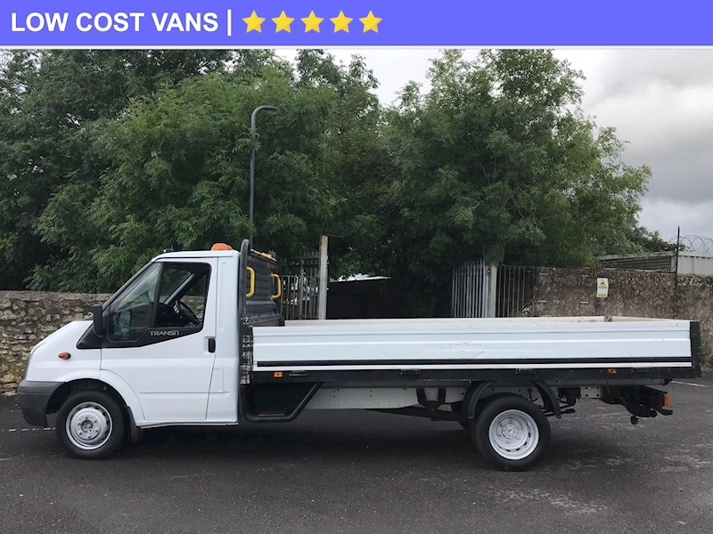 Ford Transit 2.4TDCi 350 Single Cab Dropside Twin Rear Wheel - Large 3