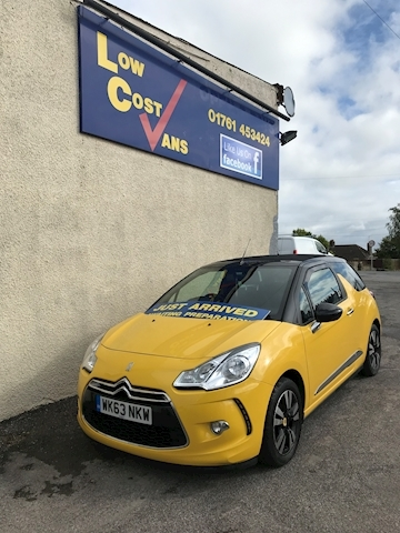 Ds3 Dstyle Convertible 1.6 Manual Petrol