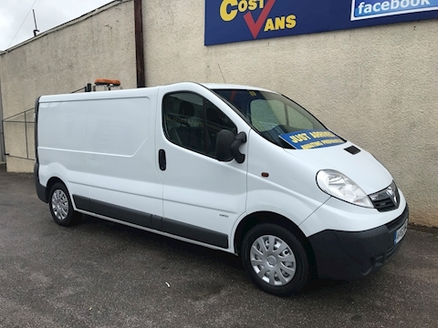 Vauxhall Vivaro 2900 2.0CDTi 115PS Long Wheel base